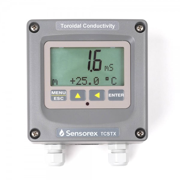 Toroidal conductivity meter