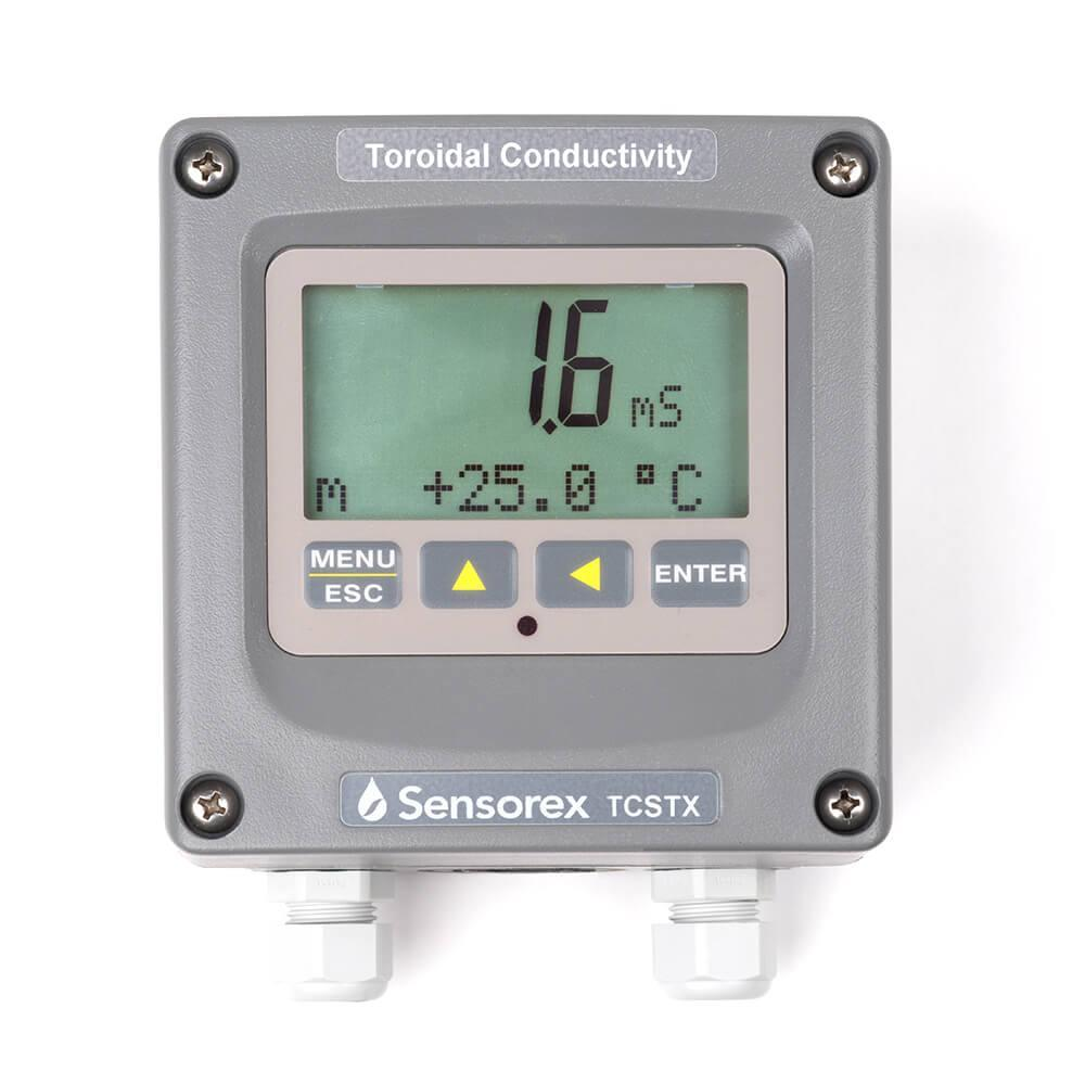 In Line Conductivity Meter : Tcstx online toroidal conductivity meter transmitter