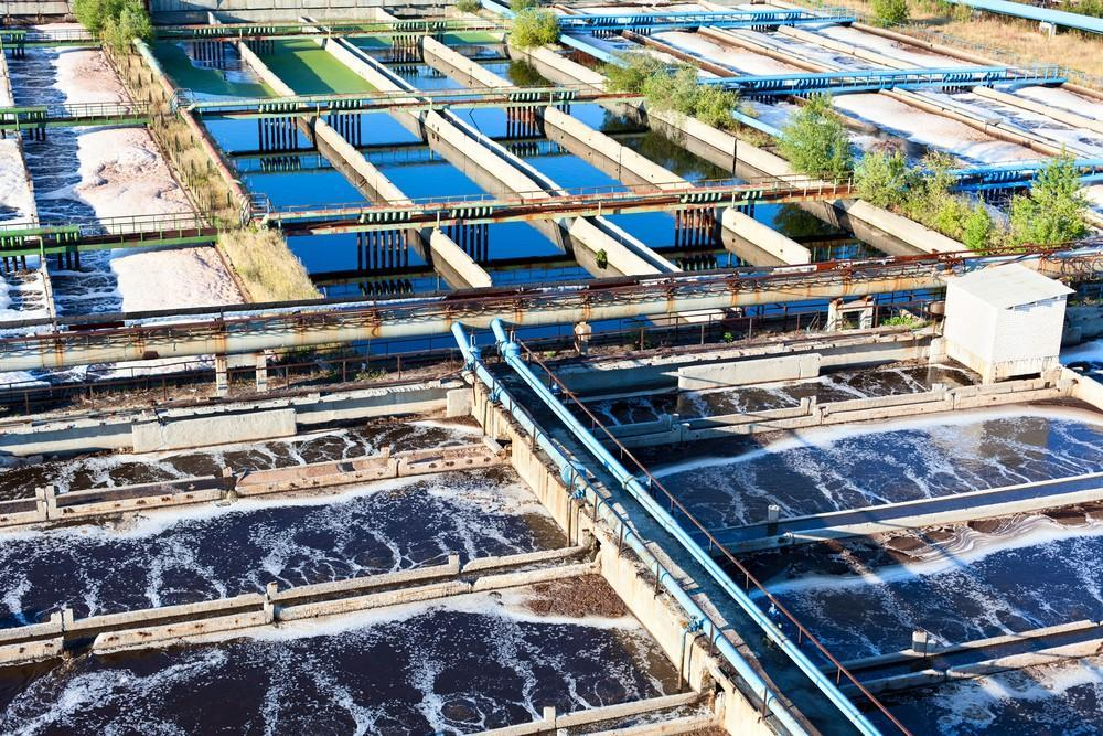 aeration wastewater treatment tanks