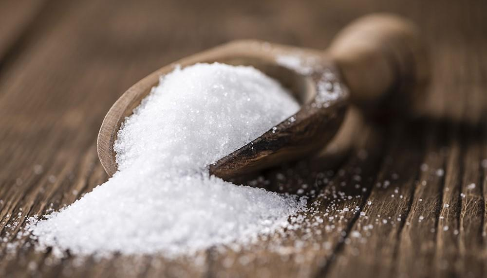 Refined sugar after processing