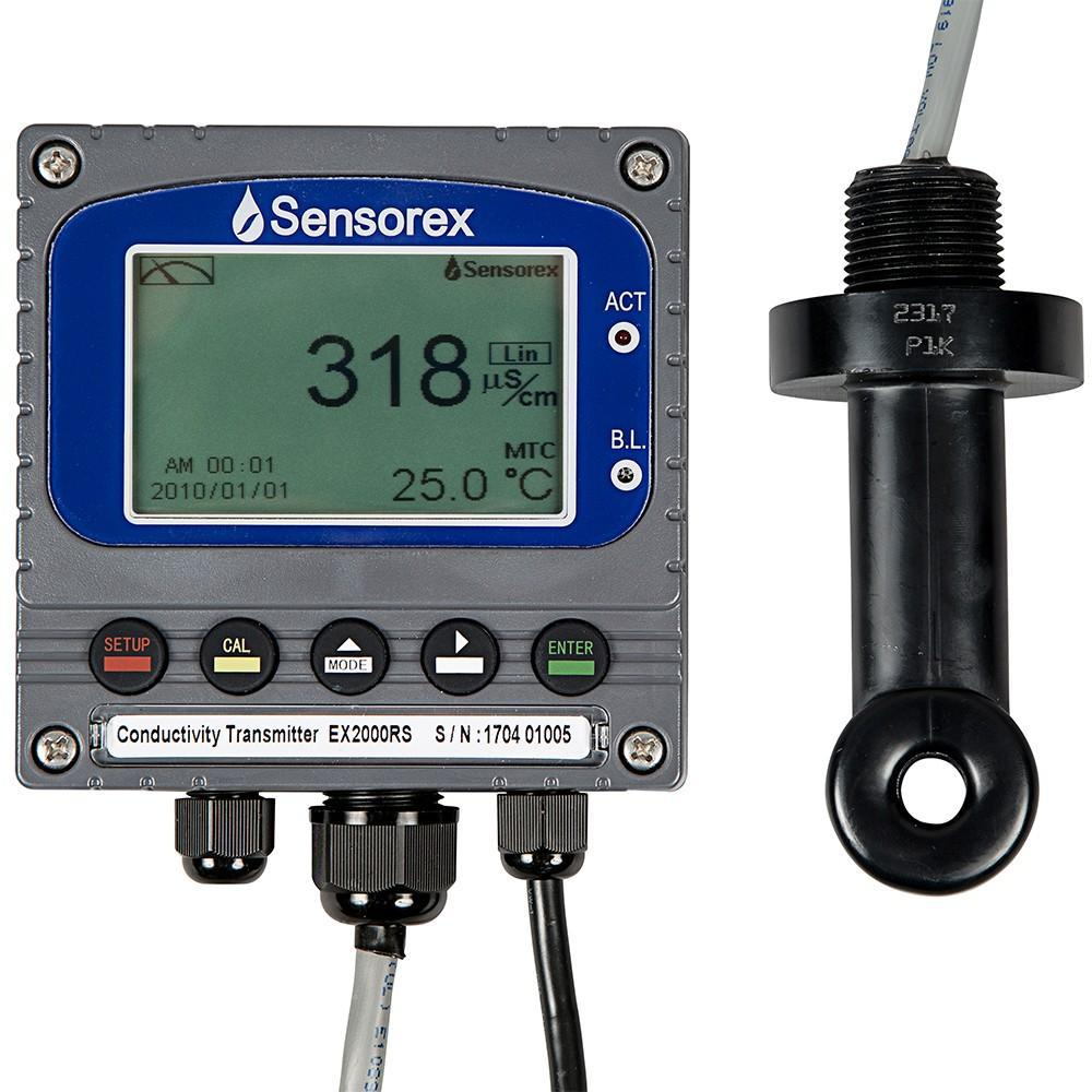electrodeless conductivity measurement package