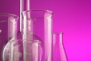 chemicals beakers