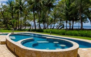 backyard pool water
