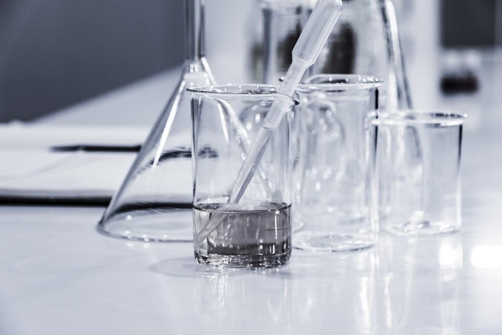 beaker test tube water
