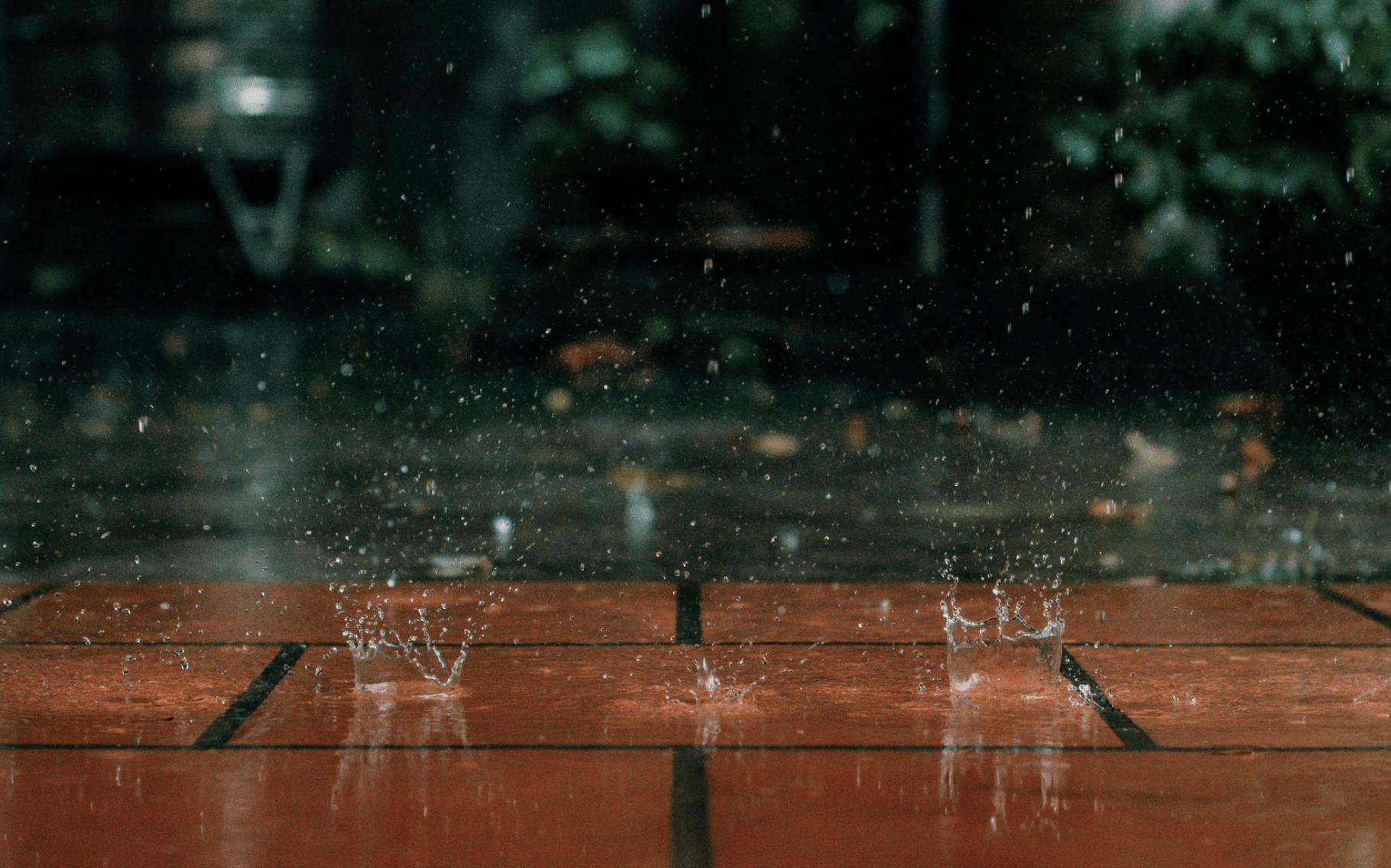 groundwater splashing