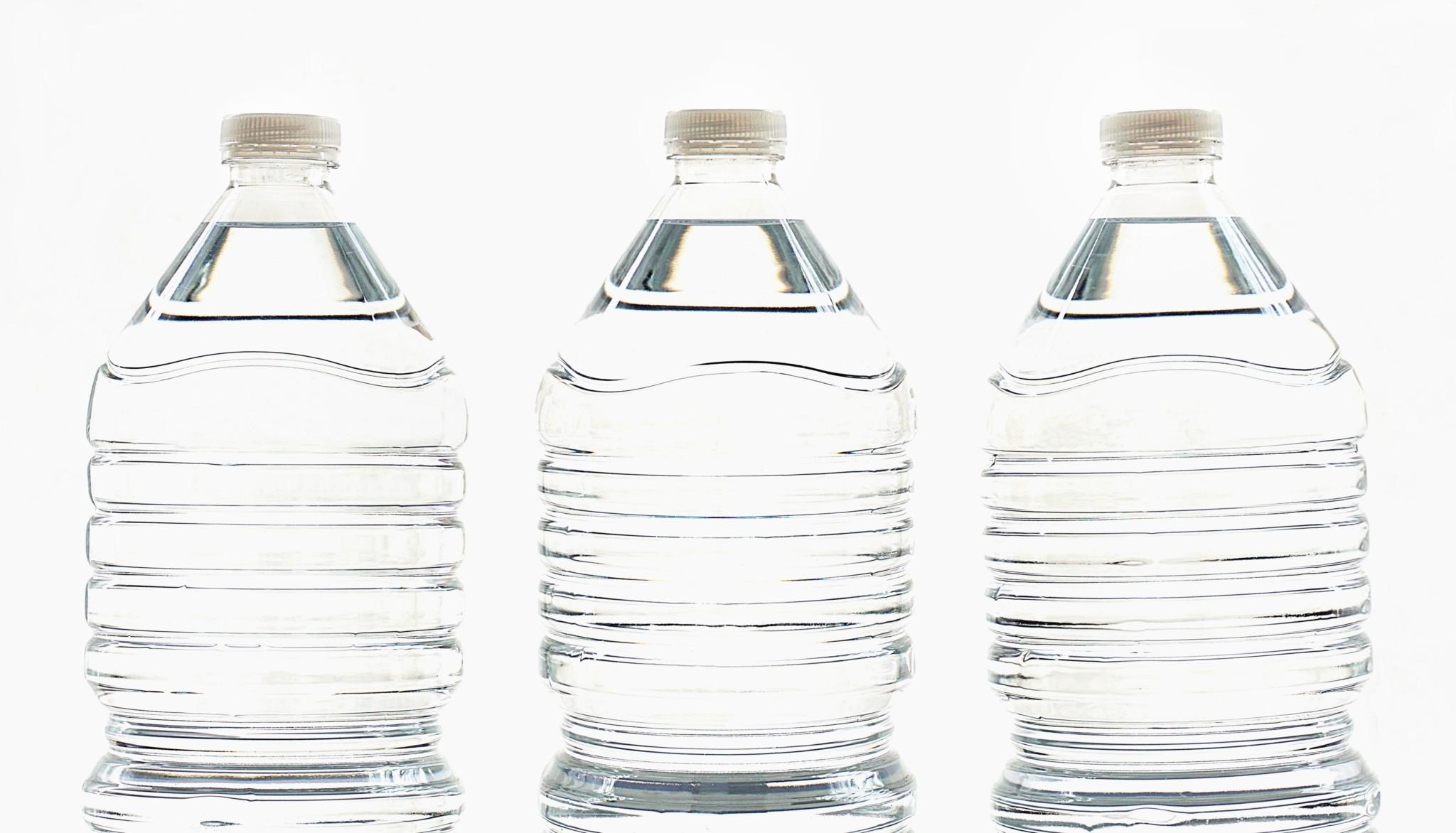 three-clear-water-bottles