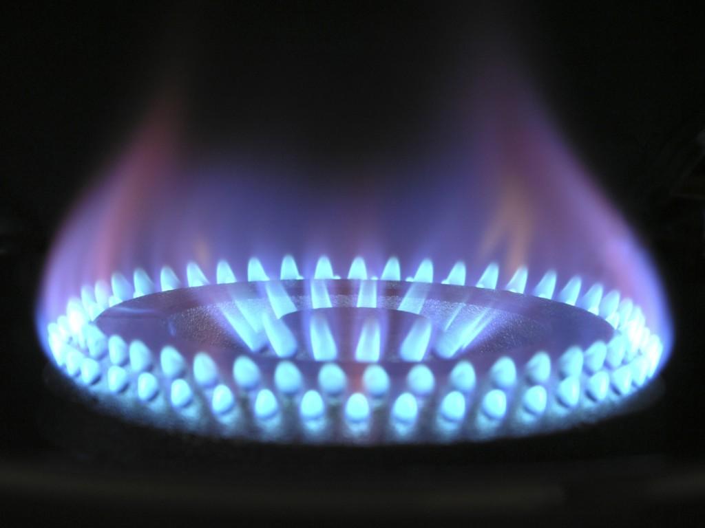 fire gas boiler hot
