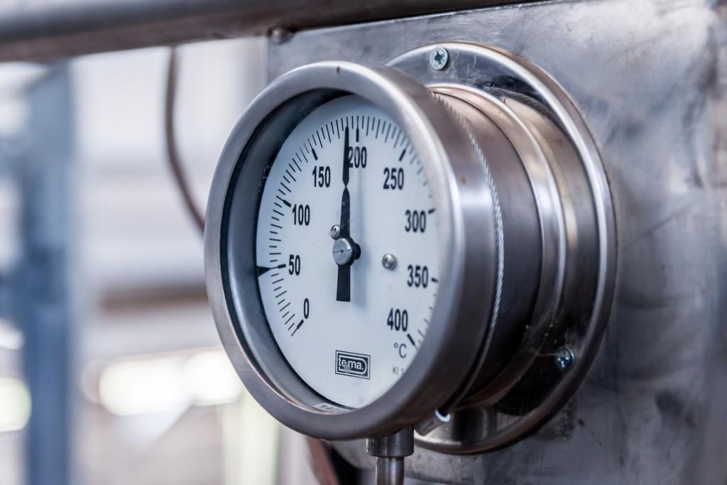 pressure gauge water boiler