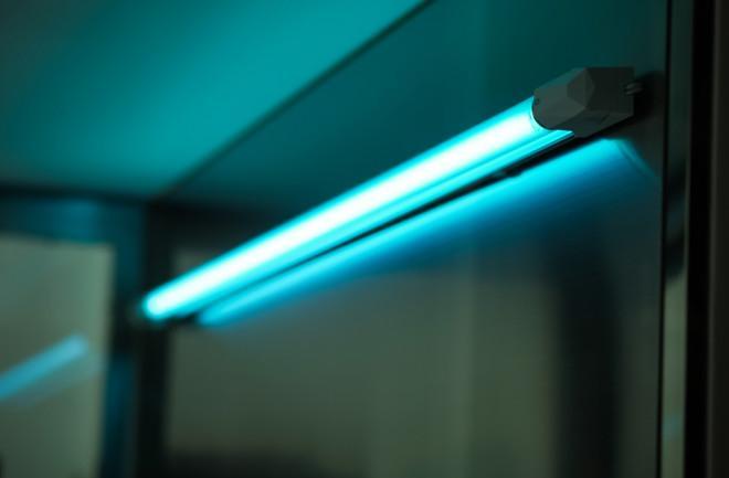 uv light for disinfection