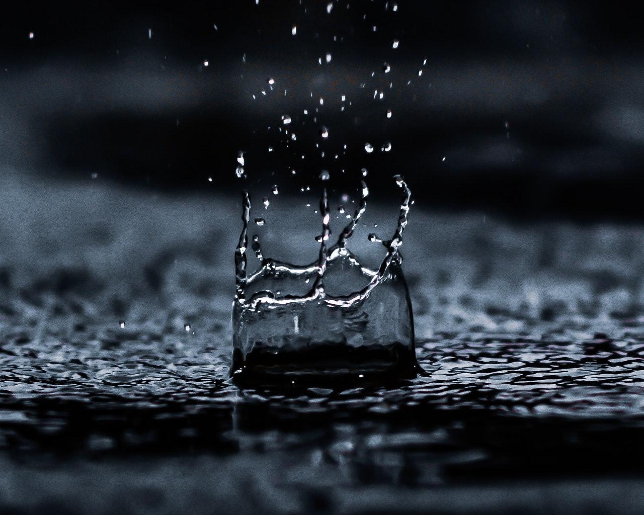 rainwater acidity